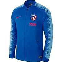 Nike ATM M NK ANTHM FB JKT - Chaqueta, Hombre, Multicolor(Blue Nebula/Blue Nebula/Bright Crimson)