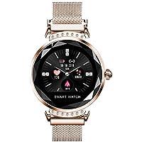 Wawer H2 Smart Watch Damen Blutdruck Sport Smart Armband Uhr Schrittzähler mit 1.04 Zoll Farbe TFT-Bildschirm