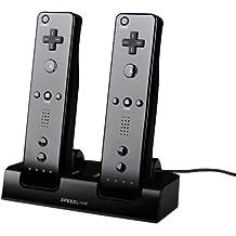 Nintendo Wii - JAZZ USB Charger, black [Importación alemana]