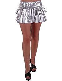 1652090ba8da Suchergebnis auf Amazon.de für  rock silber - Silber   Damen  Bekleidung