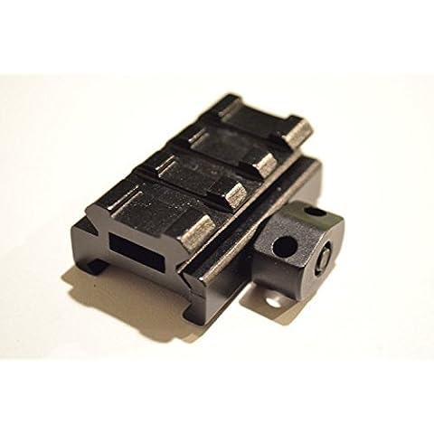 Ácido táctica ® 1/2(1,27cm riser ranura Mini corto riel Picatinny–3de perfil bajo Picatinny Riser Rifle