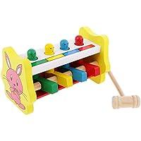 Kinder Kleinkinder lehrreich Spielzeug Holz Spiel haemmernd Bank Hammer Steckspiele