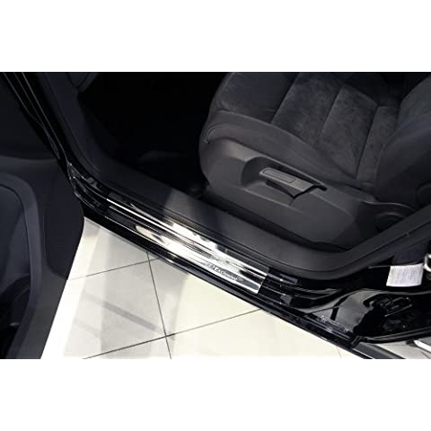 Exclusive acciaio inox set battitacco per VW TOURAN 2 II e 3 III anno 2006- 2015
