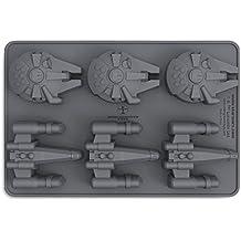 """Bandeja/Molde para cubitos de hielo Star Wars """"Naves X-Wing & Millennium Falcon"""""""