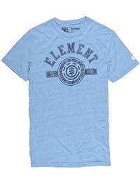Element Permit F T-shirt à manches courtes pour homme Bleu Bleu bruyère