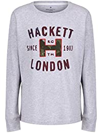 939c50d374 Hackett London - Camiseta de Manga Larga - para niño