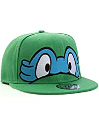 Underground Kulture Tortues Ninja Casquette de Baseball Réglable (Turtles - Blue)