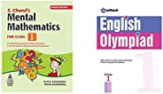 S. Chand's Mental Mathematics for Class 1&English Olympiad Class 1st(Set of