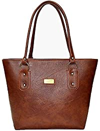 AYASA Leatherette PU Handbag for Women and Girls College Office Bag, Stylish  latest Designer Spacious bae4c703a1