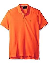 Victorinox Men's VX Polo, Bright Orange, Small