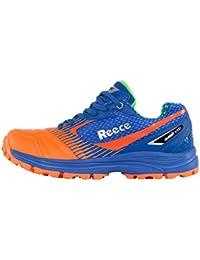 online store 74ccb f051b Reece Mens Astro Hockey Shoes - Shark - OrangeBlue