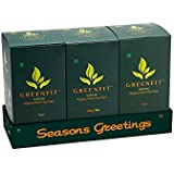 GREENFIT Green Tea Cups : Gift Pack of Assorted Flavours (Pack of 18 Cups)