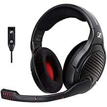 Sennheiser PC 373D Gaming-Headset (mit 7.1 Surround-Sound) schwarz/rot