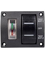 Batería de control panel negro