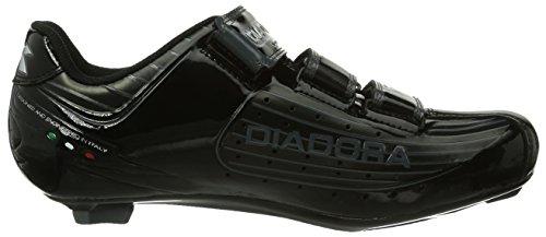 Diadora Trivex Plus, Chaussures de Vélo de route mixte adulte Schwarz (Schwarz/Schwarz)