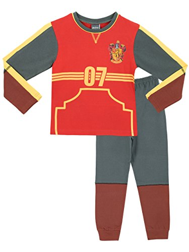 Harry Potter Boys Harry Potter Pyjamas Quidditch Outfit Age 9 to 10 Years