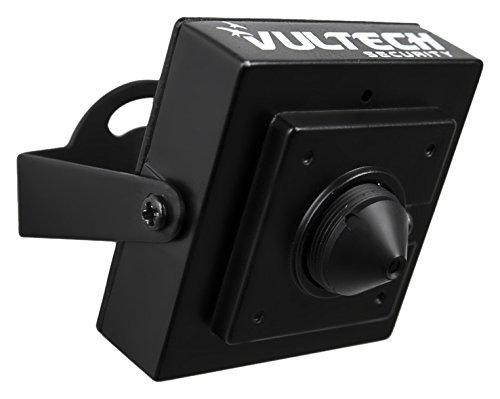 VulTech Security CM-PH80CM Telecamera, PinHole, Analogica, 1/4