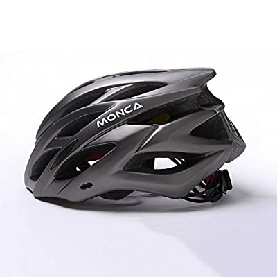 YXINY HD-49 Cycle Bike Helmet PC+EPS Men and Women Helmet Allround Helmets Head Circumference 57-62cm Gray, Black, Blue, Red, White, Yellow from YXINY