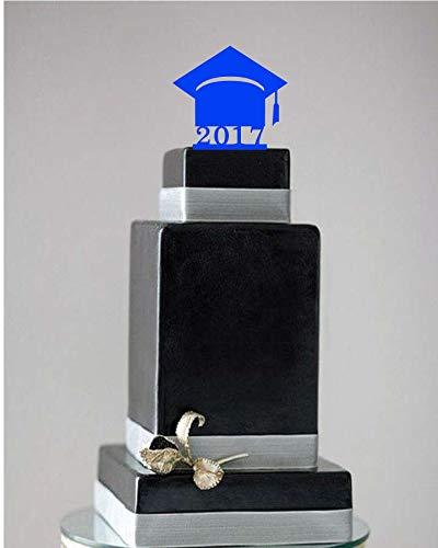 Andrea1Oliver Graduation Cap Cake Topper Absolvent Cake Topper Graduation Cake Topper Abitur Abschlussfeier Abschlussfeier 2017 Abschlussfeier decoratio (Graduation Cap Diy)