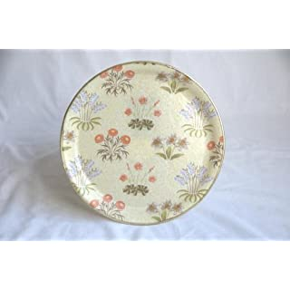 Arnold Designs - Quality Fibreglass Tray in William Morris Lily Green Design