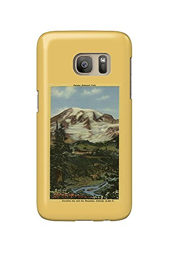 Paradise Inn, Rainier National Park (Galaxy S7 Cell Phone Case, Slim Barely There) -