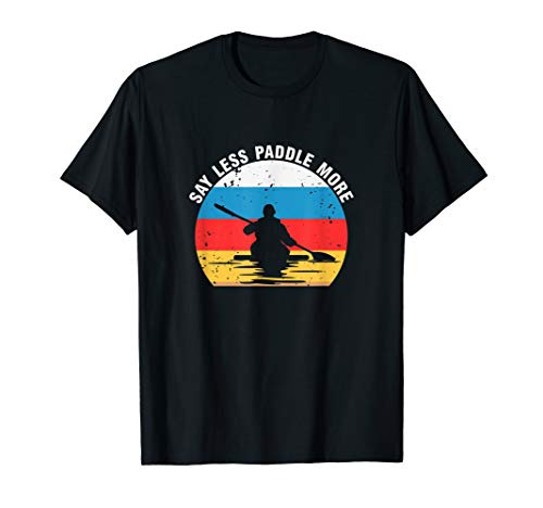 Kanu T-Shirt Kajak Vintage Paddel Kanusport Geschenk