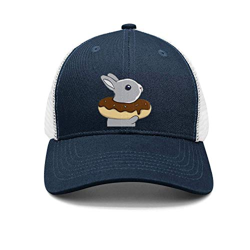 (Funny Cute Donut Lovers 2018 Upgrade for Man Adjustable Trucker Cap Sun Protection Alumni Snapback Hats)
