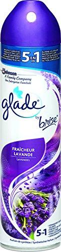 Glade by Brise Duftspray, Für langanhaltende Frische in allen Räumen, Blumiger Lavendel-Duft, 300 ml