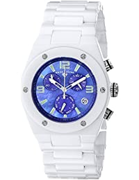 Swiss Legend 10055-WBLSA 48X40mm Ceramic Case White Ceramic Sapphire Crystal Women's Watch
