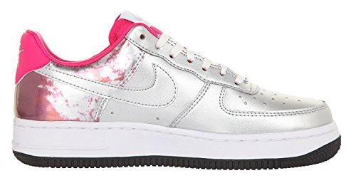 Nike Flex Trainer 5 Soar / volt / DP Royal / blu / bianco Formazione di scarpe 7 US Argento