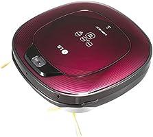 LG VR64701LVMP Roboterstaubsauger (Dual Kamera System) dunkel rot/schwarz