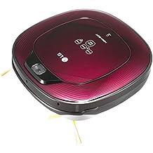 LG VR64701LVMP Hombot Square Serie 9 - Robot aspirador especial casa con mascotas, color púrpura