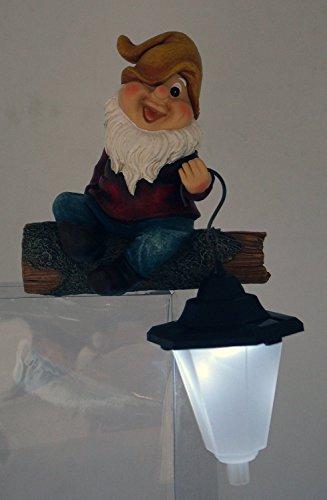 Solar-Powered-Sitting-Garden-Gnome-Lantern-Garden-Ornament-Tree-Fence-Decoration-Light