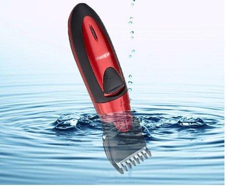 Barttrimmer für Herren/Männer / Wasserdichter Elektrorasierer / Bartschneider / Profi Haarschneidemaschine Akku für Friseur / Haarschneider für Friseurbedarf