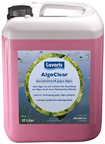 Lavaris Lake AlgoClear gegen Algen 10 l/Reichweite 2000 m³ - unser August Angebot -