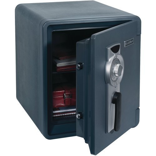 First Alert 0.94 Cubic Foot Water, Fire, and Theft Combination Safe 2087F...