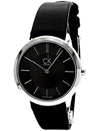 acdfd0660f03 Calvin Klein Reloj Analogico para Hombre de Cuarzo con Correa en Cuero  K3M221C4