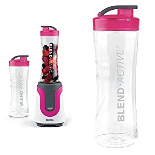 Breville 300 W Blend Active Personal Blender and Spare Bottle Bundle - Pink (B01IHHNVDK) | Amazon price tracker / tracking, Amazon price history charts, Amazon price watches, Amazon price drop alerts