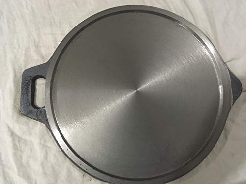 Harsithaa Traditional cast Iron Special Polished pre-Seasoned Tawa/Dosa kallu