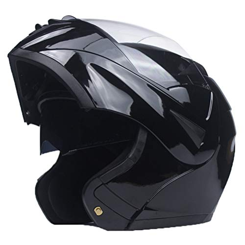 Männer Doppel Objektiv Flip Up Motocross Helme Anti Fog Winddicht Erwachsene Mountain Road Motorrad Helm Anti Fall Stoßfest Sicherheit Modular Racing Helm - Helm Lazer Motorrad