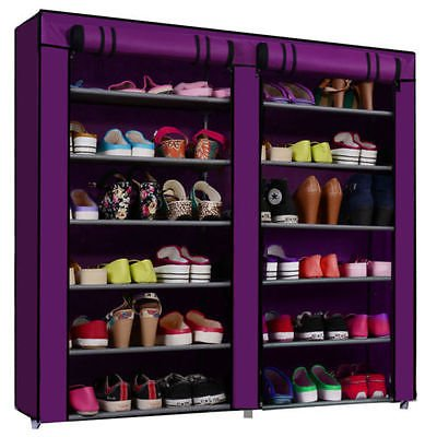 Insasta Folding Shoe Rack 11 layers(Muti-color)
