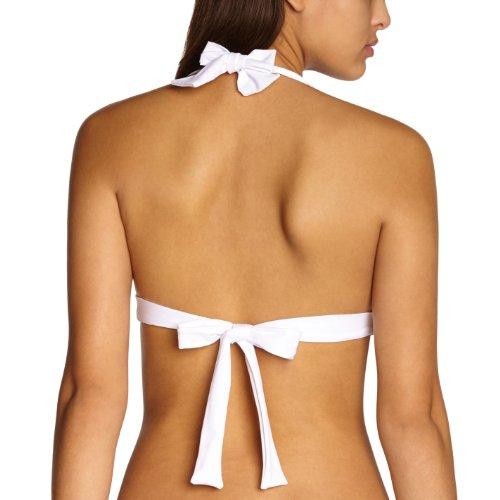 Livia Damen Bikini Bianco (Blanc (Blanc Santorin))