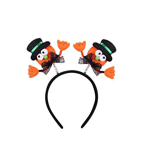 Quaan Festival Halloween Kürbis Laterne LED Kürbis Schädel Licht Party Requisiten Stirnbänder Kleid Oben Zubehör Erwachsene Oder Kinder Dekoration Ausrüstung Zuhause