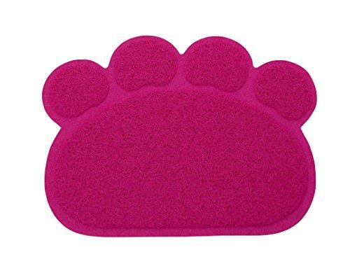 Ylen Forma de Pata PVC Manta de Estera del Perrito Gato Antideslizante