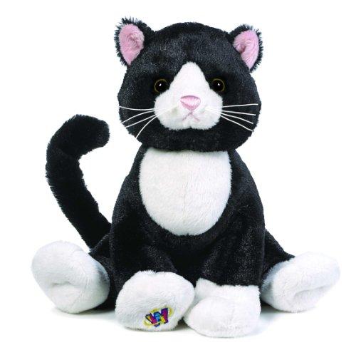Webkinz - Gatto bianco e nero di peluche con codice di adozione