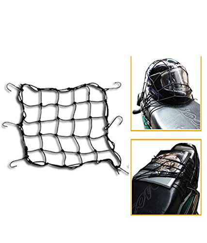 dhhan bungee cargo net/seat jali (10 x 10 inch) for royal enfield thunder bird 500 Dhhan Bungee Cargo Net/Seat Jali (10 x 10 inch) for Royal Enfield Thunder Bird 500 41i 978HFQL