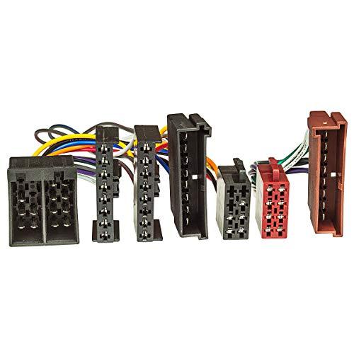 ISO x Adaptador (T-cable) FORD hasta 2004 para manos libres con ISO-conexión...