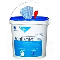 Allied Hygiene B81010395 Sanisafe 3 Quat Free Surface Wipes Polypropylene 200 x 150 mm 23gsm (Bk2000) - ukpricecomparsion.eu