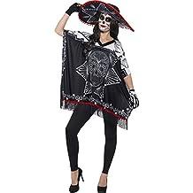 Disfraz de bandido del Día de los Muertos 41587 de Smiffy's (talla única)