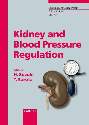 Kidney and blood pressure regulation, vol. : 143 of series: contributions to nephrologie